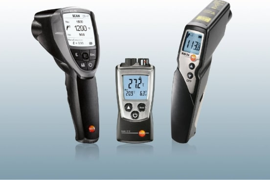 TESTO 805 I - INFRARED THERMOMETER WITH SMARTPHONE OPERATION